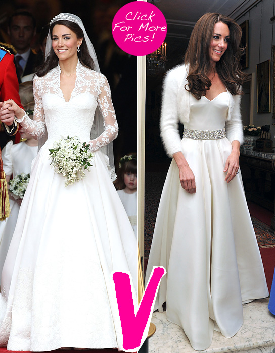 kate middleton two dresses | Bess Be Fit