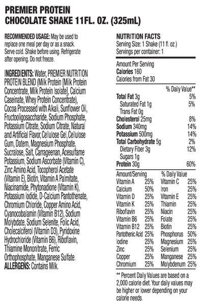 Premier nutrition protein powder